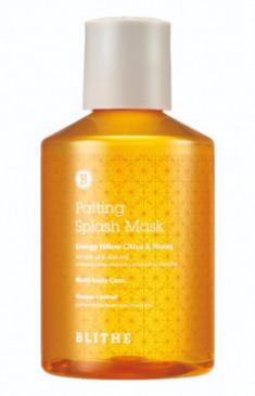 Сплэш-маска для сияния BLITHE Patting Splash Mask Energy Yellow Citrus & Honey 150 мл