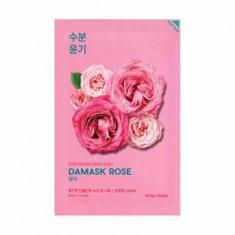Маска тканевая увлажняющая Holika Holika Pure Essence Mask Sheet Damask Rose, роза 20 мл