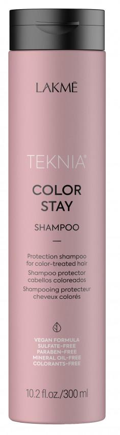 LAKME Шампунь бессульфатный для защиты цвета окрашенных волос / COLOR STAY SHAMPOO 300 мл