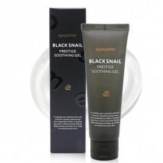 успокаивающий гель для лица с экстрактом черной улитки ayoume black snail prestige soothing gel