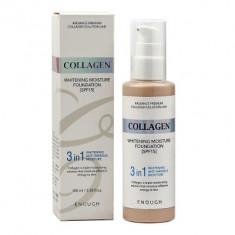 Тональная основа с коллагеном 3в1 Enough 3in1 Collagen foundation тон21 100мл