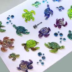 AnnaTkacheva,3D-слайдерCrystalHT№130 «Море. Черепахи» Anna Tkacheva
