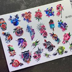 AnnaTkacheva,3D-слайдер№622 «Цветы. Животные» Anna Tkacheva