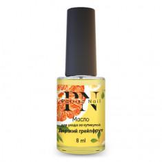 Patrisa Nail, Масло для кутикулы «Дерзкий грейпфрут», 8 мл