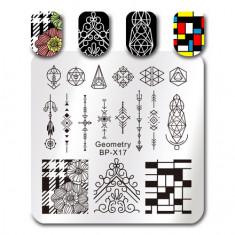 Born Pretty, Пластина для стемпинга Geometry №17