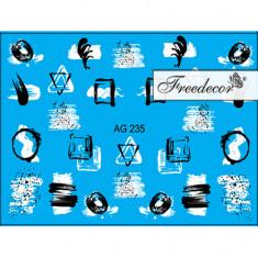 Freedecor, Слайдер-дизайн «Аэрография» №235