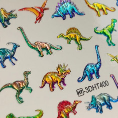 AnnaTkacheva,3D-слайдерCrystalHT№400 «Животные. Динозавры» Anna Tkacheva