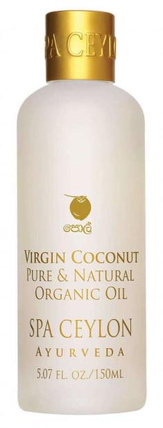 SPA CEYLON Масло чистое органическое Чистый кокос 150 мл