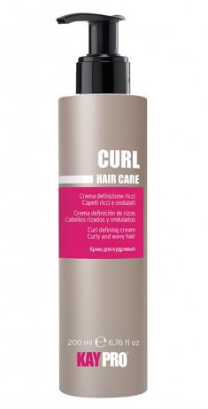 KAYPRO Крем для вьющихся волос, контроль завитка / CURLY DEFINING CREAM 200 мл