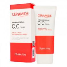 СС-крем укрепляющий с керамидами FarmStay CERAMIDE FIRMING FACIAL CC CREAM 50г