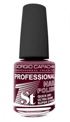 GIORGIO CAPACHINI 44 лак для ногтей, чувственное бордо / 1-st Professional 16 мл