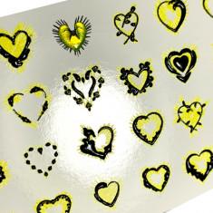 AnnaTkacheva,3D-слайдерCrystalHT№498 «Сердце. Любовь» Anna Tkacheva