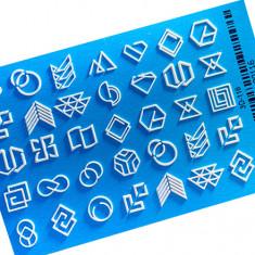 AnnaTkacheva,3D-слайдер№116,белый «Геометрия. Фигуры» Anna Tkacheva