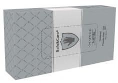 SAFE & CARE Перчатки нитриловые, серебристые, размер S / Safe & Care 100 шт
