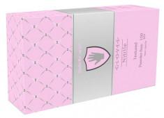 SAFE & CARE Перчатки нитриловые, перламутровые розовые, размер S / Safe & Care 100 шт