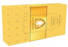 SAFE & CARE Перчатки нитриловые, золотистые, размер S / Safe & Care 100 шт