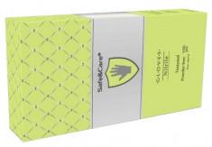 SAFE & CARE Перчатки нитриловые, зеленые (лайм), размер М / Safe & Care 100 шт