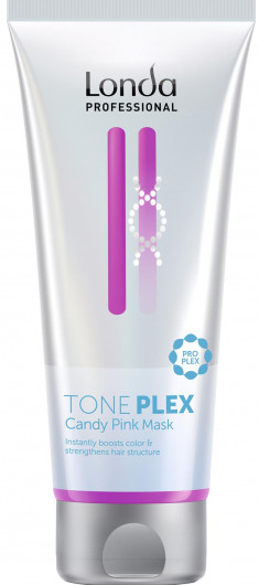 LONDA PROFESSIONAL Маска для волос Розовая карамель / TONEPLEX 200 мл