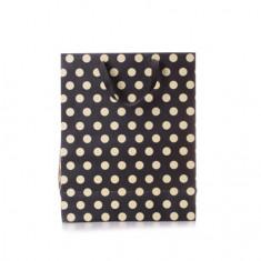 Пакет подарочный «Черно-белый»