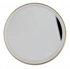 GEZATONE Зеркало косметологическое 10x, с подсветкой, золотое LM100