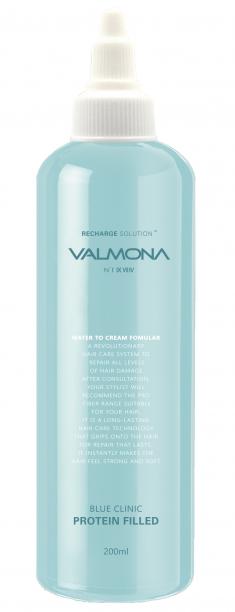EVAS Маска для волос Увлажнение / VALMONA Blue Clinic Protein Filled 200 мл