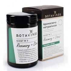 Botavikos, Аромасвеча «Розмарин-цитрус», 90 г
