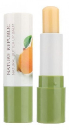 Бальзам для губ NATURE REPUBLIC Natural Butter Lipbalm 04 MANGO 4г