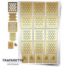 Trafaretto, Трафареты «Пчелиные соты»