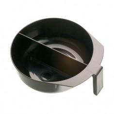 Dewal, Чаша с ручкой и перегородкой, черная, 2х375 мл