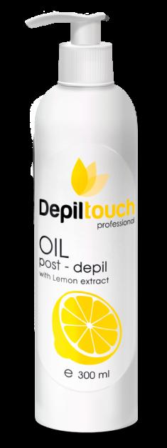 DEPILTOUCH PROFESSIONAL Масло с экстрактом лимона после депиляции / Depiltouch professional 300 мл