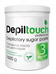 DEPILTOUCH PROFESSIONAL Паста сахарная средняя / Depiltouch professional 1600 г