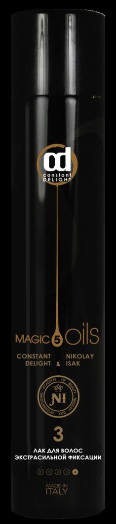 CONSTANT DELIGHT Лак экстрасильной фиксации для волос №3, без запаха / Style 400 мл