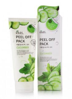 Маска-пленка с экстрактом огурца Ekel Peel Off Pack Cucumber 180 мл