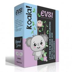 EVSI, Лифтинг-маска для кожи вокруг глаз Koala!, 4 шт.