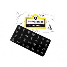 Lianail, Пластина для стемпинга Print Mania, Animalistica №2