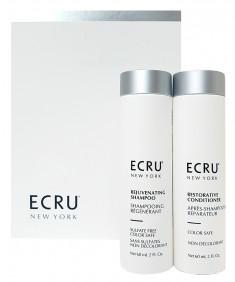 ECRU New York Набор Восстановление волос и защита цвета / RESTORE AND COLOR SAFE 2*60 мл