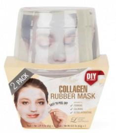 Альгинатная маска с коллагеном (пудра+активатор) Lindsay Collagen Rubber Mask (65г+6,5г)*2