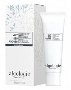 """Увлажняющая восстанавливающая ночная маска Algologie """"Морские волны"""" 50мл"""
