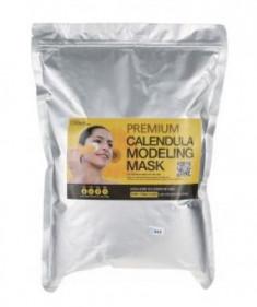 Альгинатная маска с календулой LINDSAY Premium calendula modeling mask pack zipper 1 кг