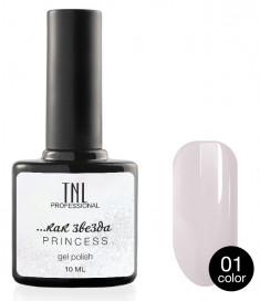 TNL PROFESSIONAL 01 гель-лак для ногтей / Princess color 10 мл
