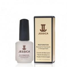 Jessica restoration базовое покрытие для повреждённых и пост-акриловых ногтей 14,8мл