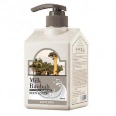 Лосьон для тела с белым мылом Milk Baobab Original Body Lotion White Soap 500мл