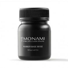 Monami Professional, Каучуковая база Beige, 50 г