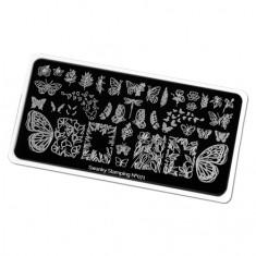 Swanky Stamping, Пластина для стемпинга №71