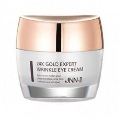 крем от морщин для кожи вокруг глаз с 24k золотом jungnani jnn-ii 24k gold expert wrinkle eye cream