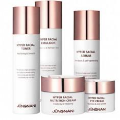 премиум-набор для лица с пептидами jungnani hyper facial premium skin care 5 set