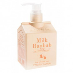 лосон-пудра для тела milkbaobab baby powder lotion