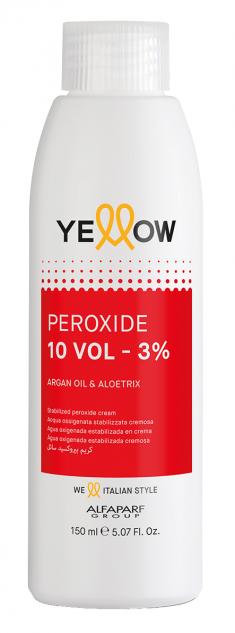 YELLOW Окислитель кремовый 3% (10 vol) / STABILIZED PEROXIDE CREAM 150 мл