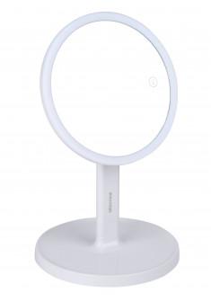 GEZATONE Зеркало косметологическое со светодиодной подсветкой, белое LM208