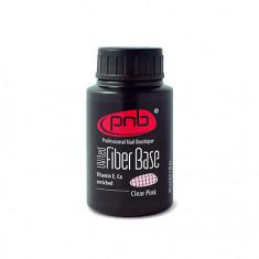 PNB, База Fiber, Clear Pink, 30 мл